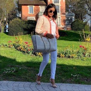 Zara tweed jacket bloggers favorite
